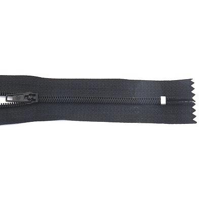 Молния Т4 спираль брючн. п/авт. 14 см 322 черн. в интернет-магазине Швейпрофи.рф