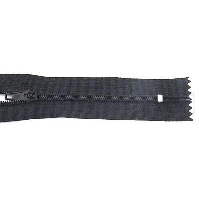 Молния Т4 спираль брючн. п/авт. 16 см 322 черн. в интернет-магазине Швейпрофи.рф