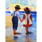 Алмазная мозаика АЖ-1300 «Дети у моря»