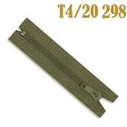 Молния Т4 спираль брючн. п/авт. 18 см 298 хаки