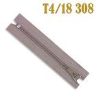 Молния Т4 спираль брючн. п/авт. 18 см 308 беж.