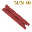 Молния Т4 спираль брючн. п/авт. 20 см 148 красн.