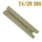 Молния Т4 спираль брючн. п/авт. 20 см 308 беж.