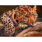 Алмазная мозаика АЖ-1356 «Леопард»
