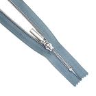 Молния Т5 GM-851  18 см никель/ серый №304