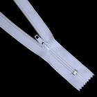 Молния Т5 карман. спираль 18 см  №101 белый