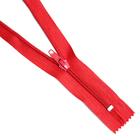 Молния Т5 карман. спираль 18 см №148 красный