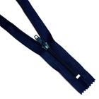 Молния Т5 карман. спираль 18 см №330 т.-синий