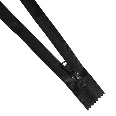 Молния Т7 карман. спираль 18 см водонепроницаемое покр. чёрный в интернет-магазине Швейпрофи.рф