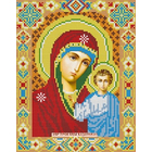 Алмазная мозаика АЖ-2002 «Икона Казанская» 22*28 см