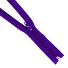 Молния Т5 разъемн. спираль 70 см №170 фиолет.