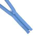 Молния Т5 разъемн. спираль 75 см №178К голуб.