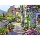 Алмазная мозаика Гранни AG1018 «Цветущая улица»