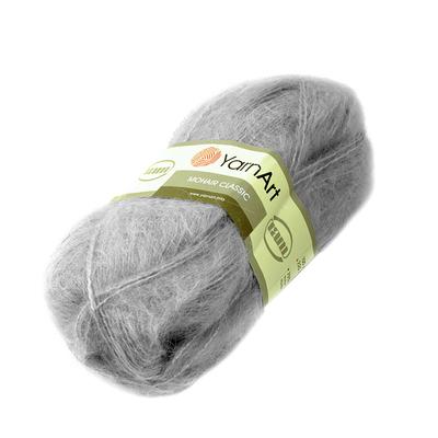 Пряжа Мохер YarnArt (Mohair Classic),100 г / 220 м, 113 серый в интернет-магазине Швейпрофи.рф