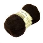 Пряжа Мохер YarnArt (Mohair Classic),100 г / 220 м, 123 темно-коричневый