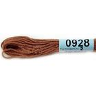 Мулине х/б 8 м Гамма, 0928 коричневый
