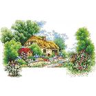 Алмазная мозаика Кристалл 7527 «Пейзаж. Лето»