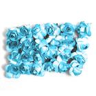 Декор MH1-T010  цветы (уп. 24 шт.) Е04 синий