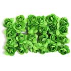 Декор MH1-T010  цветы (уп. 24 шт.) Е10 т.-зеленый