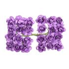 Декор MH1-T010  цветы (уп. 24 шт.) Е11 св.-фиолетовый