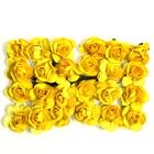 Декор MH1-T010  цветы (уп. 24 шт.) Е13 желтый