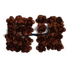 Декор MH1-T010  цветы (уп. 24 шт.) Е19 коричневый