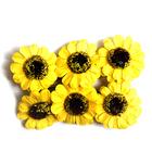 Декор MH3-2314 «Цветы» уп.6 шт желтый 7715383