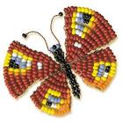 Набор для бисероплетения Риолис Б044 «Бабочка» 5*4 см