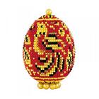Набор для бисероплетения Риолис Б184 Яйцо пасхальное «Хохлома»
