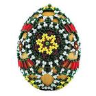 Набор для бисероплетения Риолис Б191 Яйцо пасхальное «Лужицкие мотивы» (снят) 6,5*5 см