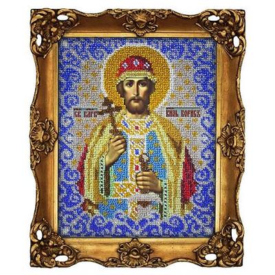 Набор для выш. Вышиваем Бисером L-036 «Св. князь Борис» 17*20 см в интернет-магазине Швейпрофи.рф