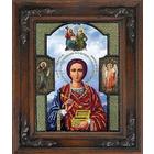 Набор для выш. Вышиваем Бисером L-068 «Св. Пантелеймон Целитель» 18,5*25,5 см