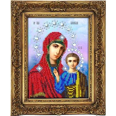 Набор для выш. Вышиваем Бисером S-03 «Икона Божией матери Казанская» 13*16 см в интернет-магазине Швейпрофи.рф