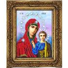 Набор для выш. Вышиваем Бисером S-03 «Икона Божией матери Казанская» 13*16 см