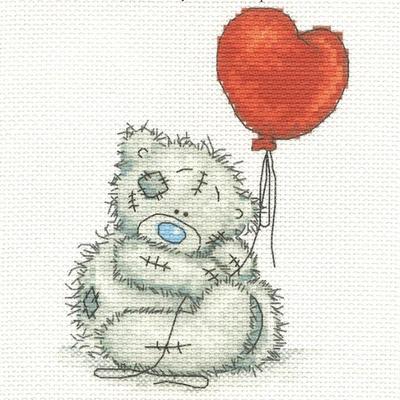 Набор для вышивания «Русская сказка ДН-008 Мишка с шариком» в интернет-магазине Швейпрофи.рф