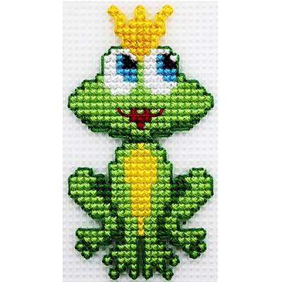 Набор для вышивания HP Kids П-0004 «Царевна-лягушка» 5,5*10,5 см в интернет-магазине Швейпрофи.рф