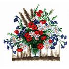 Набор для вышивания HP №607 «Летние цветы» 25*25 см