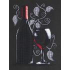 Набор для вышивания Luca-S В2220 «Бутылка с вином» 20*29 см