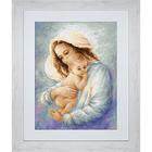 Набор для вышивания Luca-S В521 «Мать и дитя» 39,5*28,5 см
