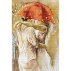 Набор для вышивания Luca-S В552 «Под зонтом» 25,5*38,5 см