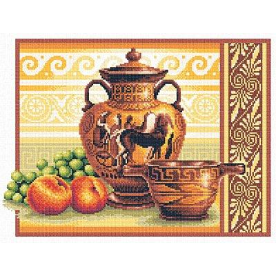 Набор для вышивания Panna В-0225 «Греческие вазы» 36*26 см в интернет-магазине Швейпрофи.рф
