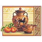 Набор для вышивания Panna В-0225 «Греческие вазы» 36*26 см