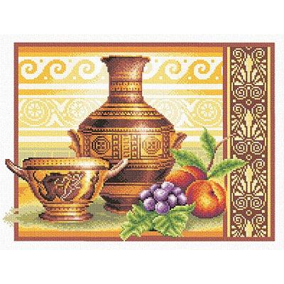 Набор для вышивания Panna В-0255 «Греческий полдень» 36*26 см в интернет-магазине Швейпрофи.рф
