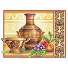 Набор для вышивания Panna В-0255 «Греческий полдень» 36*26 см