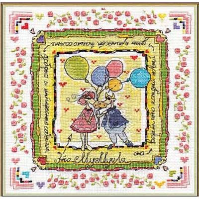 Набор для вышивания Panna ВК-0767 «Мумуля. Секрет успешной леди» 24*24 см в интернет-магазине Швейпрофи.рф