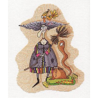 Набор для вышивания Panna ВК-1143 «Ведьмочка» 19*24 см в интернет-магазине Швейпрофи.рф