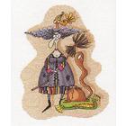 Набор для вышивания Panna ВК-1143 «Ведьмочка» 19*24 см