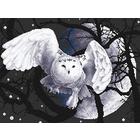 Набор для вышивания Panna Ж-0359 «Белая сова» 36*27 см