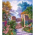 Набор для вышивания Panna ЖК-2000 «Райский уголок» 22*25,5 см