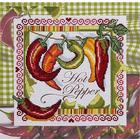 Набор для вышивания Panna КТ-1629 «Огонек кулинарии» 19,5*19,5 см